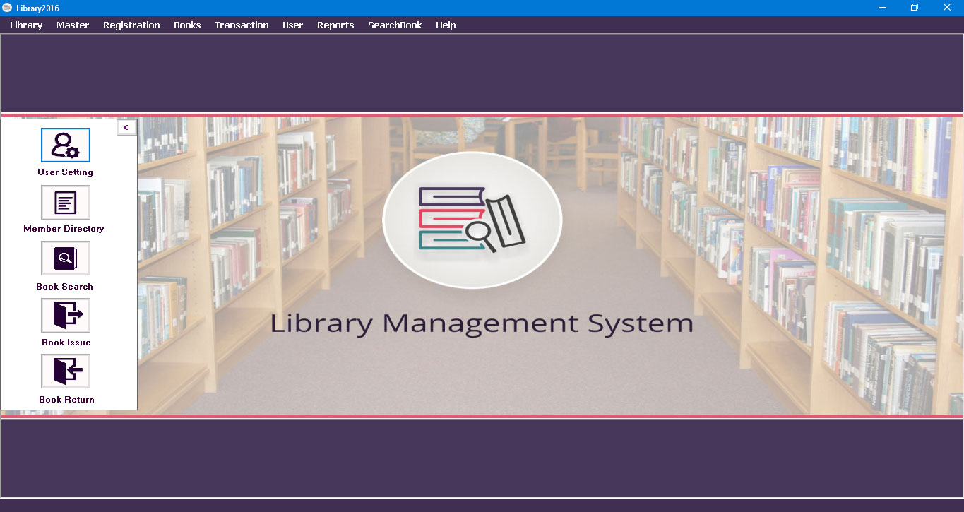 Desktop based library management system library for Table design of library management system