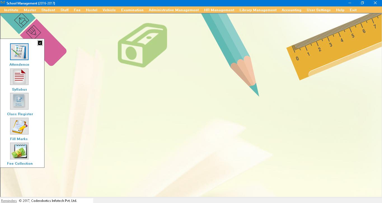 Technology Management Image: Desktop School Management, Educational ERP, Enterprise