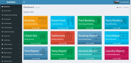 online hotel software