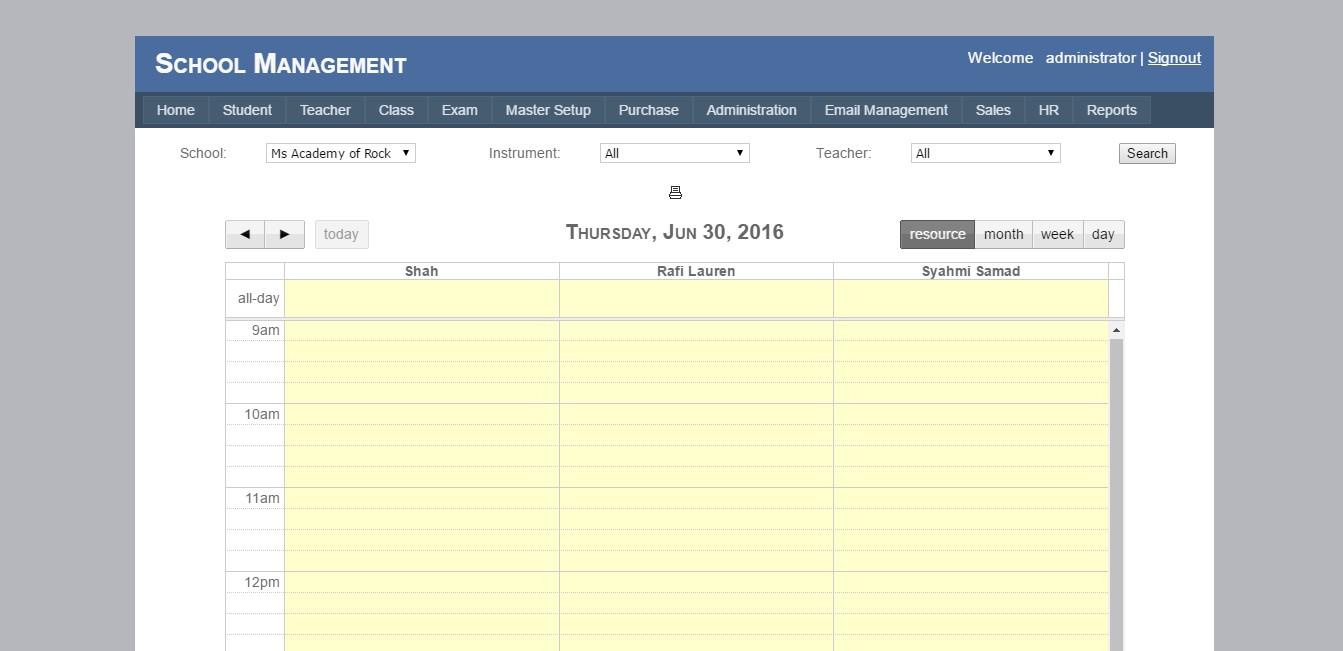 Technology Management Image: School Management System, SMS, School Software, Asp.Net