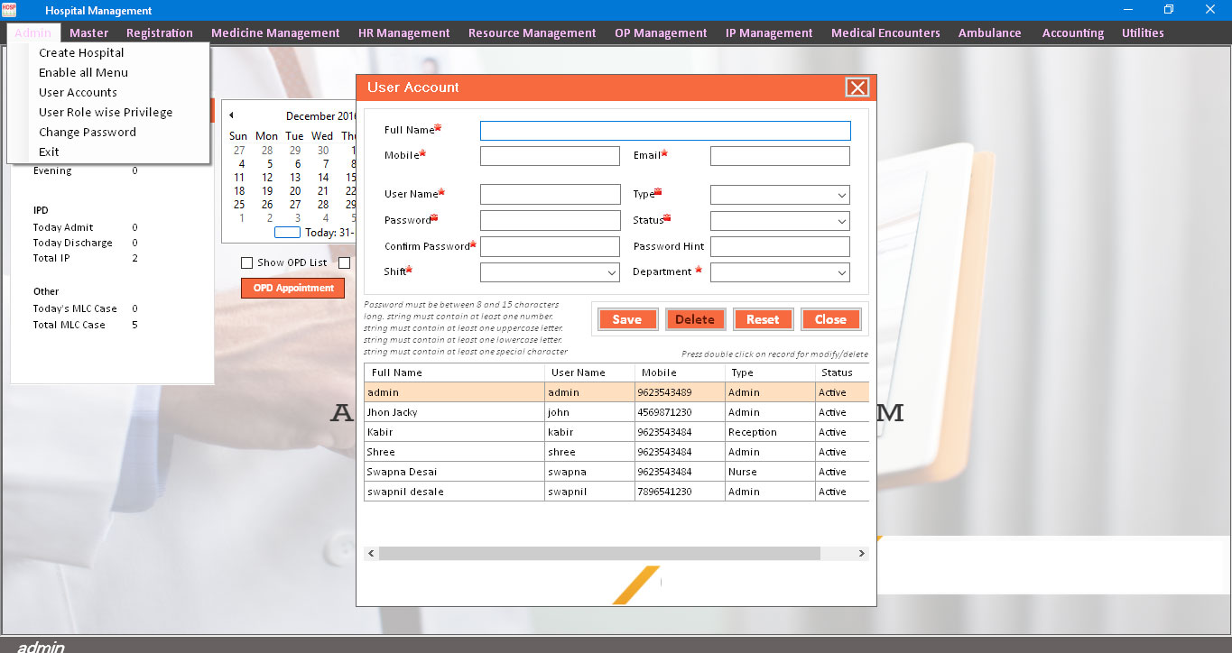 hospital 7 - Maintain your warehouse Smartly